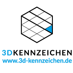 Klik hier voor de korting bij 3D Kennzeichen